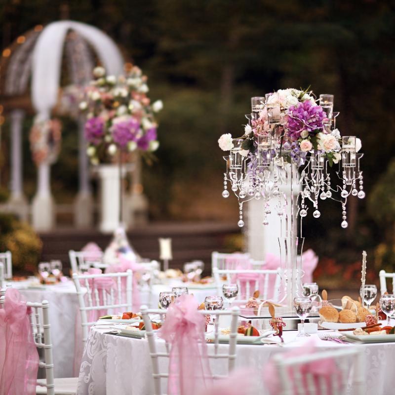 hostina, svatební raut, dekorace